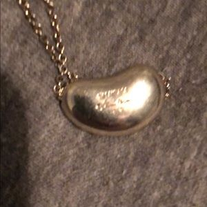 Tiffany & Co. Jewelry - TIFF AND CO LARGE BEAN NECKLACE STERLING SILVER